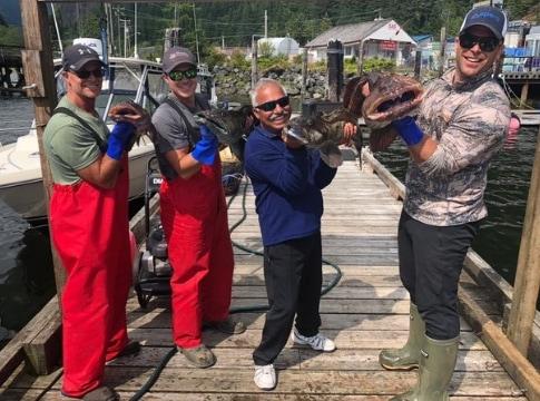 Lingcod Fishing 2